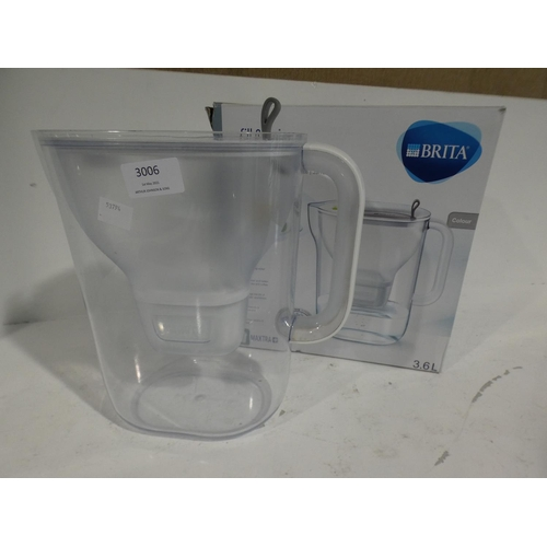 3006 - Brita Maxtra+Xl Style Jug (220-32) * This lot is subject to VAT...