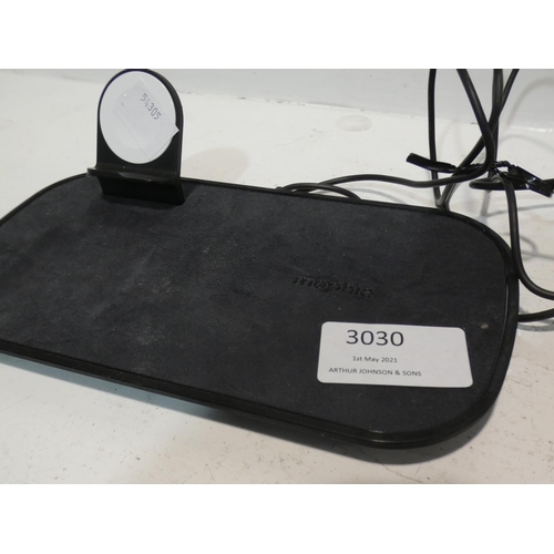 3030 - Mophie Wireless Charging Station  (220-242) * This lot is subject to VAT...