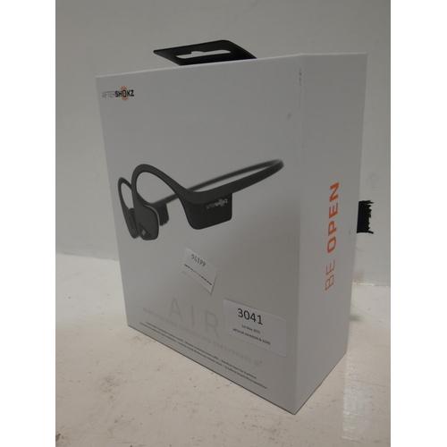 3041 - Trekz Air Grey Wireless Headphones (220-195) * This lot is subject to VAT...