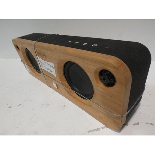 3049 - Marley Get Together Bluetooth Speaker (no charging lead)    (220-9) * This lot is subject to VAT...