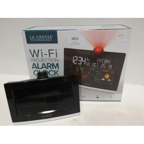 3053 - Lacrosse Projection Alarm Clock (220-93) * This lot is subject to VAT...
