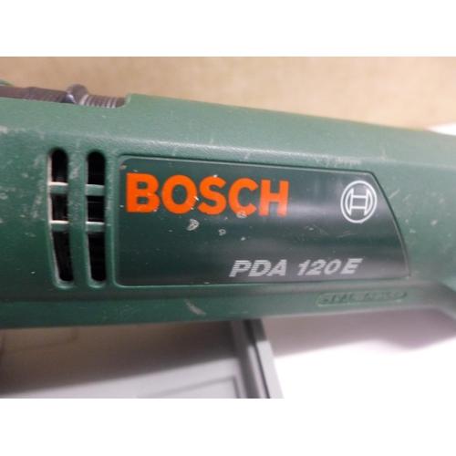 2013 - Bosch PDA 120E sander & hot glue gun...