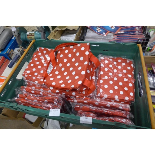 2041 - Box of 30 unused thermal lunch bags...
