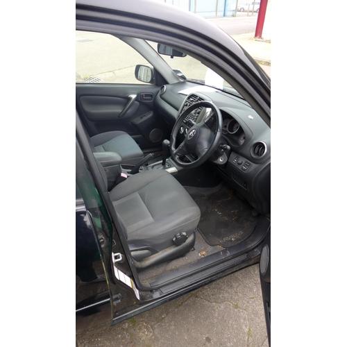 2392 - Toyota 2.0 Rav4 XT3 auto estate, petrol, date of registration 02.01.2004, personalised number plate ...