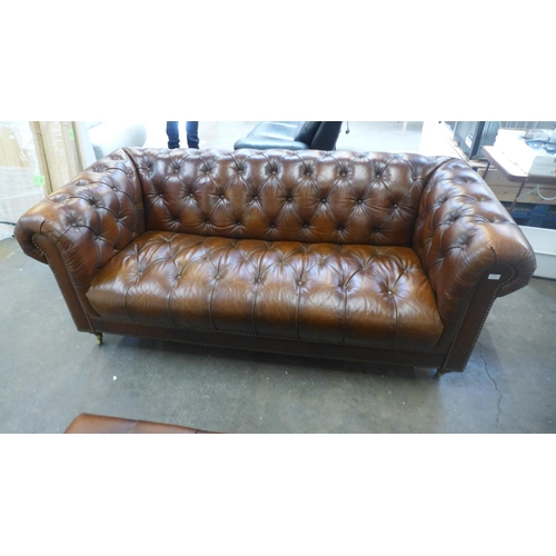 1310 - A Buckingham three seater sofa (GFO16) RRP £2340  *This lot is subject to VAT - missing button