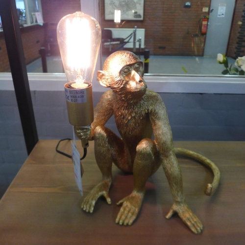1331 - A George the Monkey gold lamp (2069222)   #