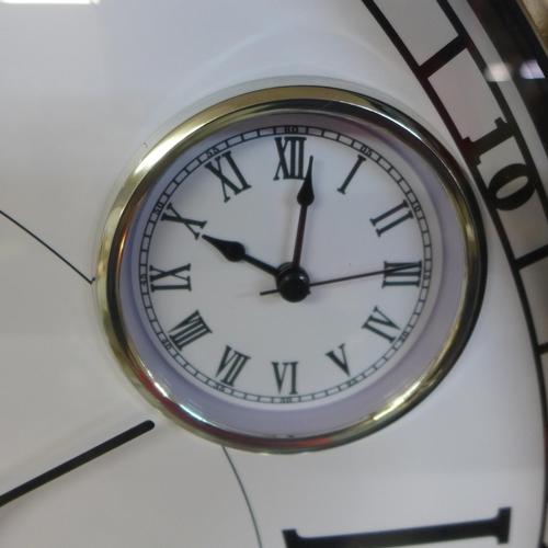 1390 - A large multi-dial clock, 66cm (CL204970)   #
