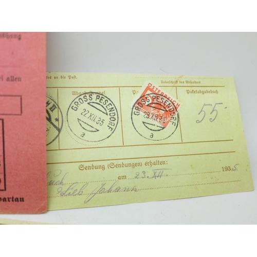 645 - German 1949-50 ration coupons