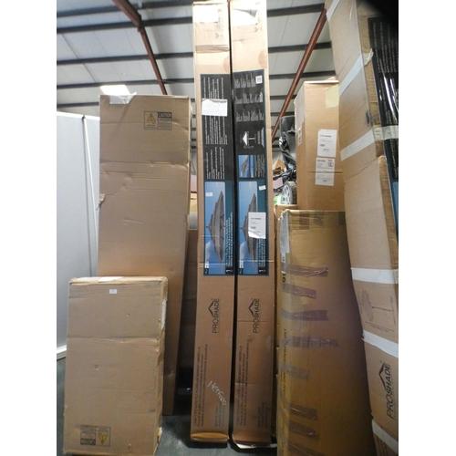 3010 - Activa 11' Aluminium Umbrella With Wood Finish, RRP £199.91 + VAT    (226-61) * This lot is subject ...