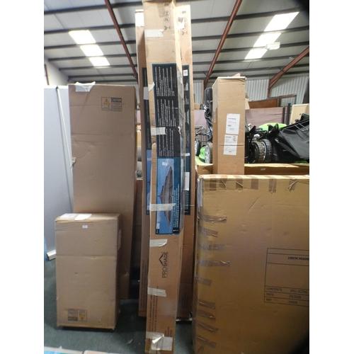 3011 - Activa 11' Aluminium Umbrella With Wood Finish, RRP £199.91 + VAT    (226-62) * This lot is subject ...