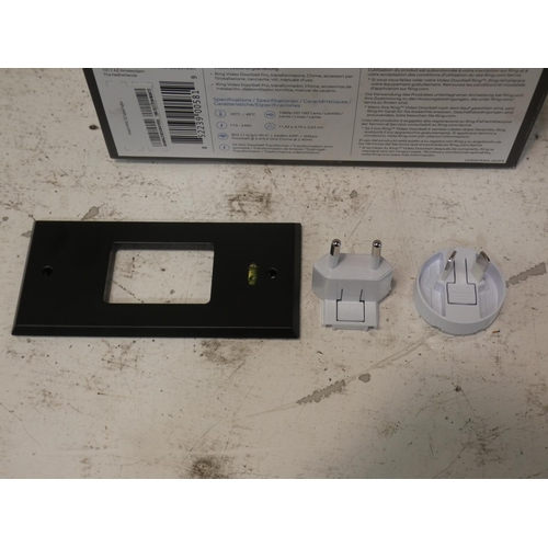3029 - Ring Doorbell Pro including chime. RRP £162.41 + vat   (227-351) * This lot is subject to VAT