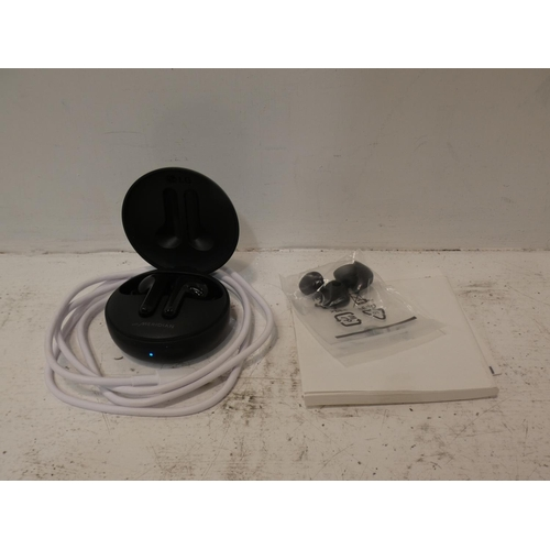 3056 - LG Wireless Earbuds (model:- HBS-FN4.ABEUBK), RRP £62.41 + VAT (226-51) * This lot is subject to VAT
