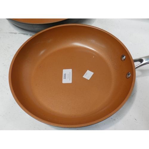 3066 - Gotham Pro Pan Set 2Pk - Ceramic/Titanium (227-203) * This lot is subject to VAT