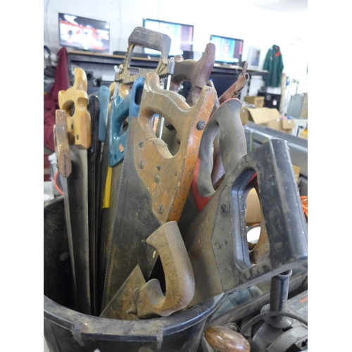 2006 - A quantity of hand saws