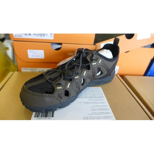 2045 - 3 Pairs of boy's Merrell Chorrock sandle-type trainers - UK2/EU34 - boxed and unused