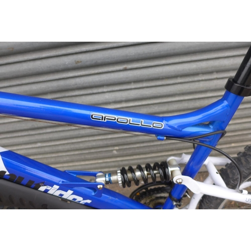 2061 - Apollo Outrider twin disc MTB - complete with mudguards