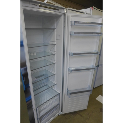 11 - Bosch Integrated Fridge * This lot is subject to VAT