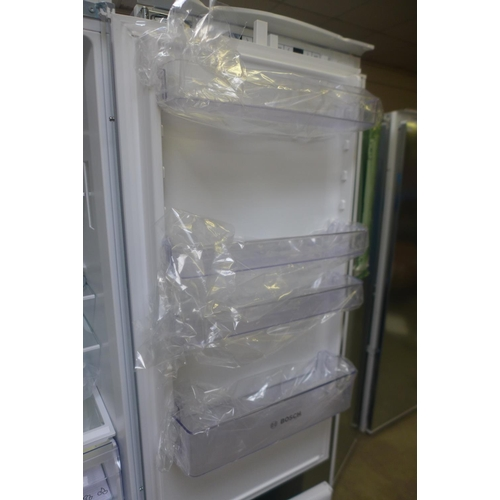 8 - Bosch Integrated 70/30 Fridge Freezer - H1772xW541xD548 - model no:- KIV87NSF0G, RRP £587.5 inc. VAT...