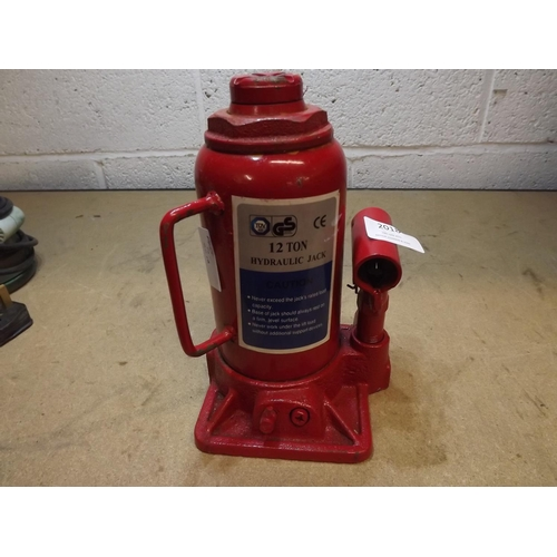 2018 - Bottlejack ( no handle ) - W, Crimpers, magnetic toolrack fittings