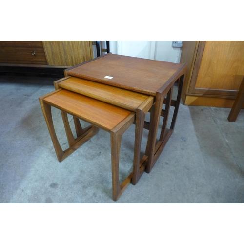 53 - A G-Plan Quadrille teak nest of tables