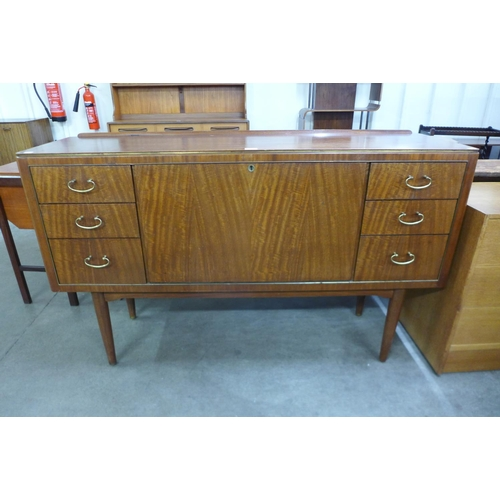 56 - An afromosia sideboard