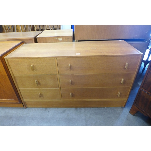 90 - A Stag oak Cantata chest of drawers