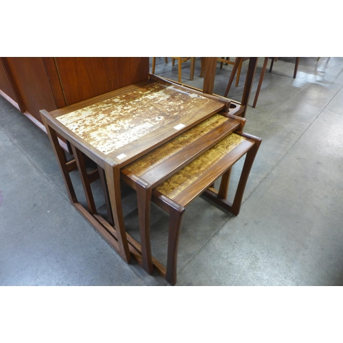 92 - A Danish teak nest of tables