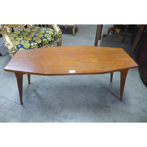 98 - A teak coffee table