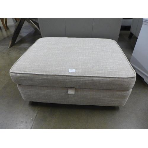 1309 - A Next Solene natural storage footstool