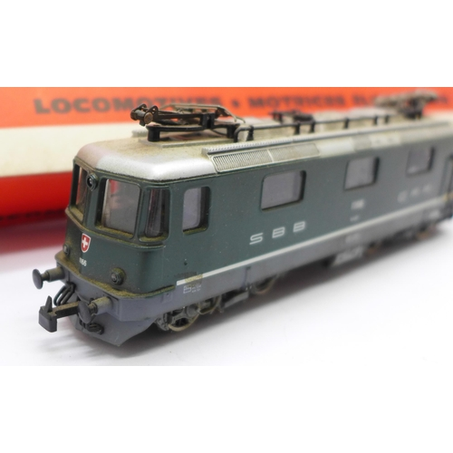 622 - A Jouef 8856 BB RE 4/4II electric locomotive, boxed