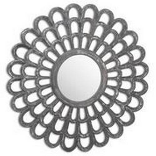1416 - An Odyssey metallic effect silvered wall mirror (2060640)   #