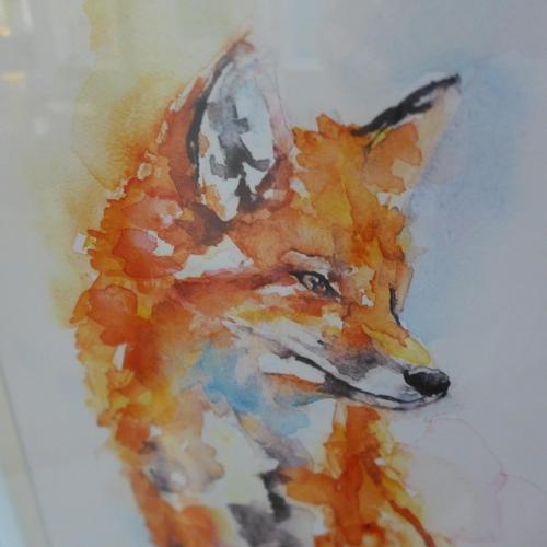 1465 - A Jennifer Rose,  Handsome Fox framedprint- 40 X 50     (PPFPPR43747G22)   #