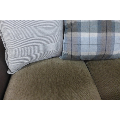 1408 - An Alexander & James two seat designer sofa (some use)