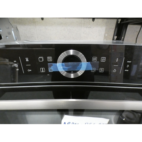 3009 - Bosch Series 8 Compact Oven with Microwave (H455xW595xD548), RRP £807.5 inc. VAT - model no:- CMG633...
