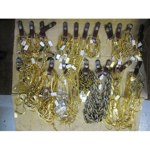 26 - Very large collection of vintage 22 Carat gold plated & rhodium jewelry by The Loren Anaan Collectio...