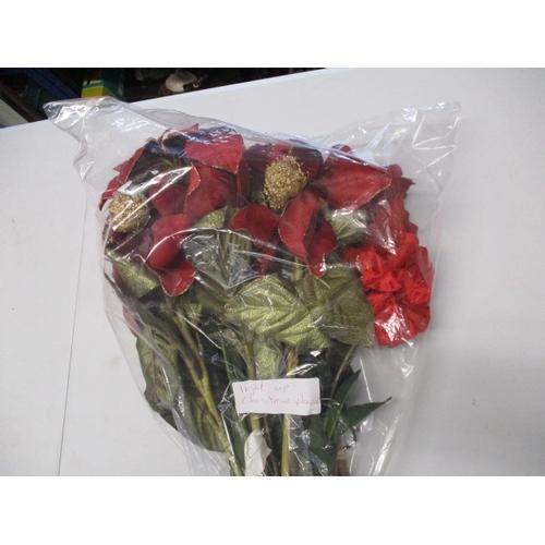 38 - Christmas fibre optic bunch of flowers....