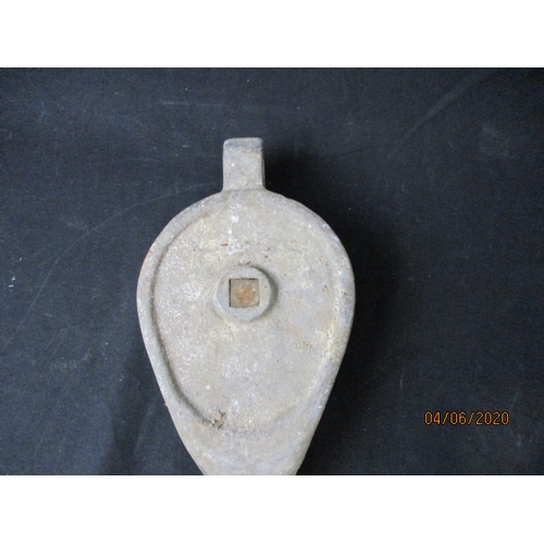 15 - Vintage Pulley Hook (Heavy Duty)...