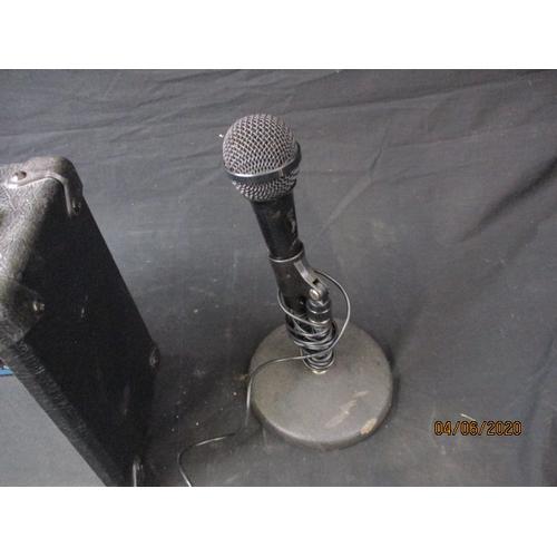16 - Speaker and Microphone (Realistic 9-10. Max Power 10 Watt)...