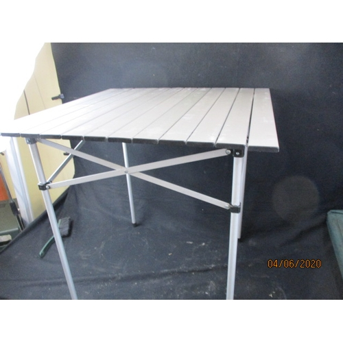 4 - 2 x  metal Camping Tables...