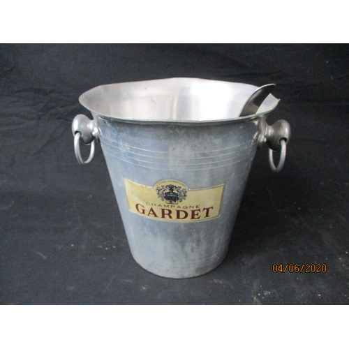 7 - Aluminium Tee Gardet Champagne Bucket and Ladel...