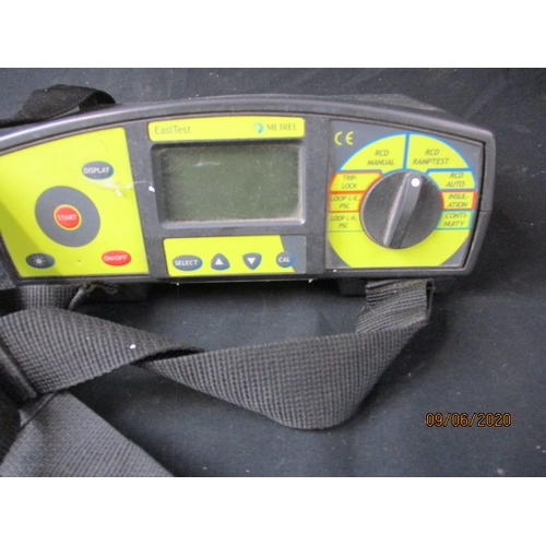 34 - Easy test working tester, with leads....