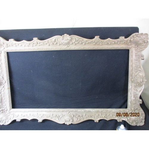 40 - Large resin swept, picture/mirror frame....