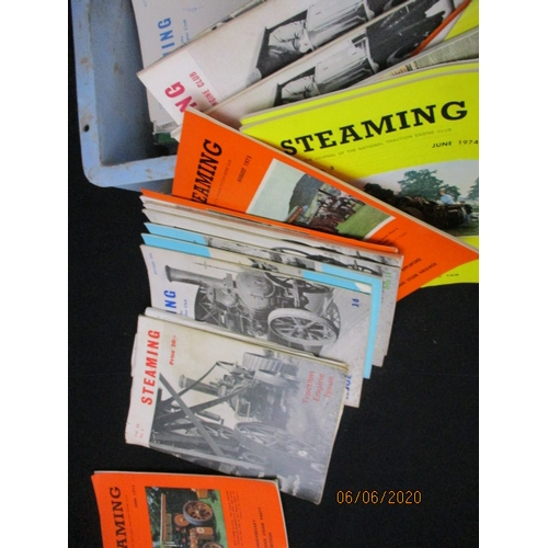 6 - large Selection of Vintage Steamer steam Magazines 1970s / 1980s...