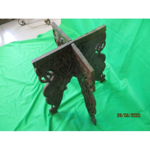 56 - Beautiful Antique ornate wooden carved table....
