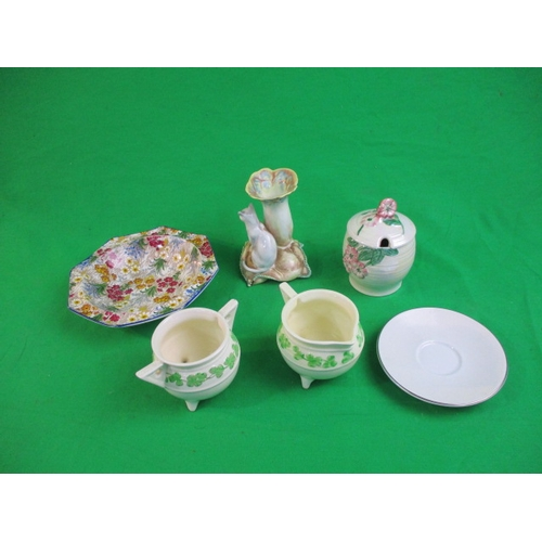 35 - Collection of vintage china to include Sylvac...