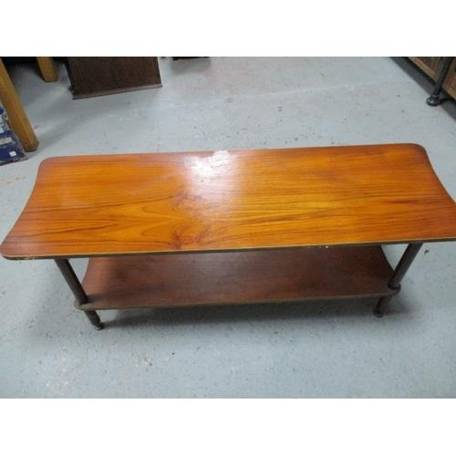 45 - Mid century Danish style coffee table...