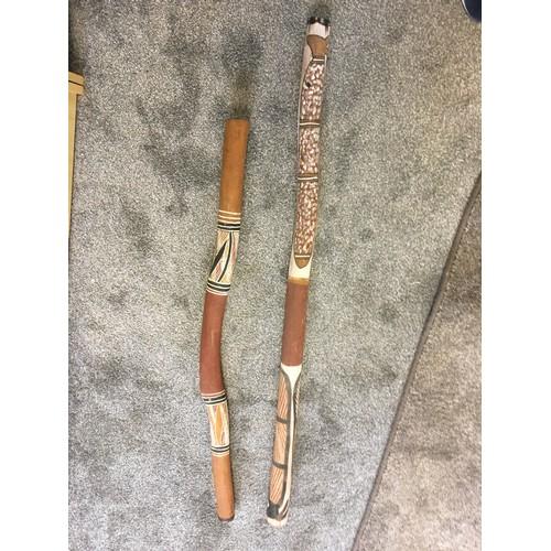 143 - Two Australian Didgeridoo`s...