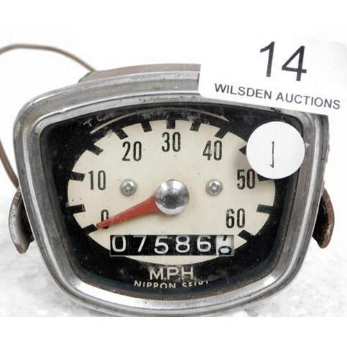 14 - Speedometer - Nippon Seiki