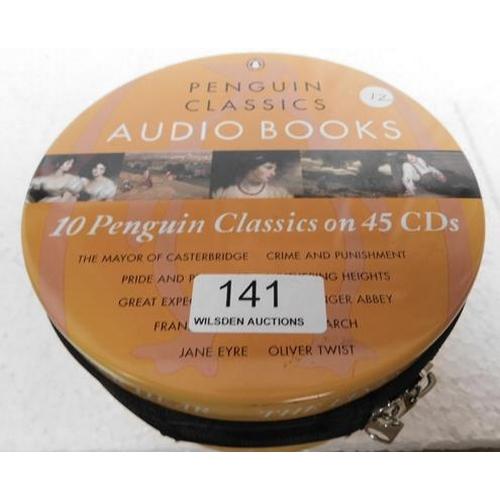 141 - Penguin Classics Audio Book tin - 45 CDs