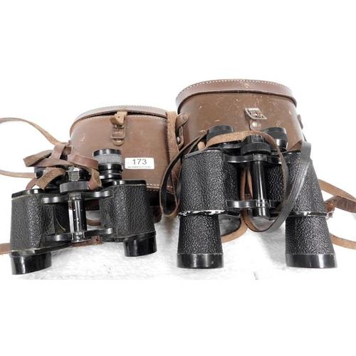 173 - 2 pairs of binoculars